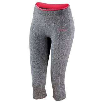 1a12326301f2e S273F Womens Leggings Sport Grey Marl/ Hot Coral Gsports.ie